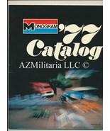 1977 Monogram  Models Catalog   - $9.75