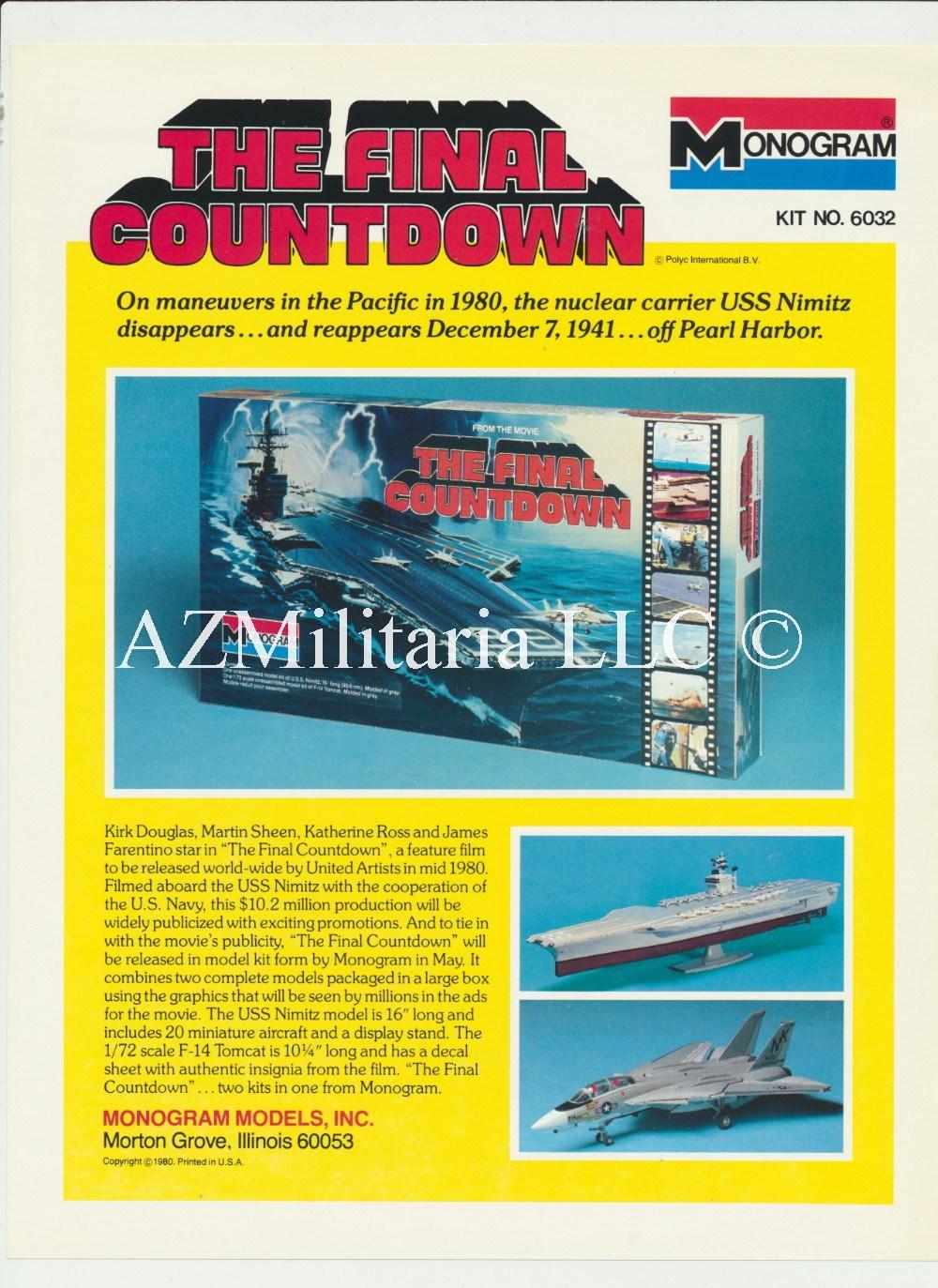 1977 Monogram  Models Catalog