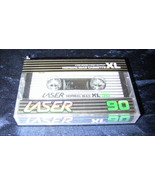 Vintage Brand New Sealed 1983 Laser XL 90 Blank Audio Cassette Tape Norm... - $9.99