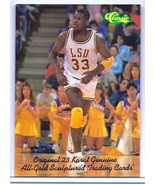SHAQUILLE O'NEAL CLASSIC COLLEGE PROMO ROOKIE CARD! LSU TIGERS! NBA LEGE... - $1.99