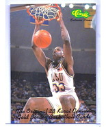"""SHAQUILLE O'NEAL CLASSIC COLLEGE """"SLAM DUNK"""" PROMO ROOKIE CARD! LSU TIGERS! - $1.99"""