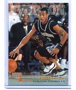 ALLEN IVERSON 1996 SCOREBOARD COLLEGE ROOKIE CARD! GEORGETOWN HOYAS! NBA... - $1.99