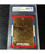 """MICHAEL JORDAN 1998 FLEER 23KT GOLD """"1986 ROOKIE"""" WCG GEM-MT 10 23KT GOL... - $19.99"""