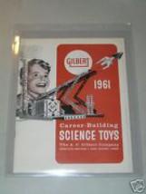 1961 GILBERT SCIENCE TOYS CATALOG-D2238 - $20.00