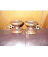 Antique Wooden candle holders, (reproductions0 - $9.00