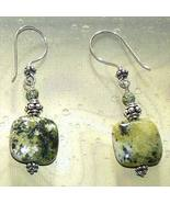 Sterling Silver Serpentine Earrings - $15.00