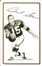 bart starr green bay packer football 1978 sport deck playing card - $5.99