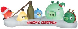 GEMMY AIRBLOWN INFLATABLE ANGRY BIRDS SCENE PROP DECOR Garden Cool Yard ... - €68,43 EUR