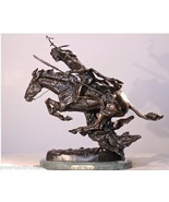 The Cheyenne Pure Bronze Lost Wax Sculpture by Frederic Remington Regular - $1,200.00