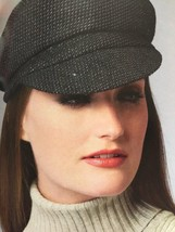 Vogue Sewing Pattern Patricia Underwood 9044 Misses Five Hats Size O/S New - $18.47
