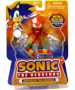Sonic The Hedgehog: Knuckles The Echidna 3 Inch Tall Action Figure Brand... - $21.99