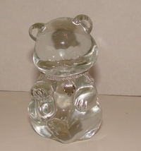 "April  Fenton 3 1/2"" Crystal Bear BIRTHSTONE Diamond - $5.99"