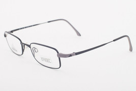 Adidas A973 40 6061 SLEEK Matte Black Eyeglasses 973 406061 45mm - $68.11