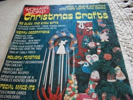 Woman's World Christmas Crafts Magazine 1975 - $5.00