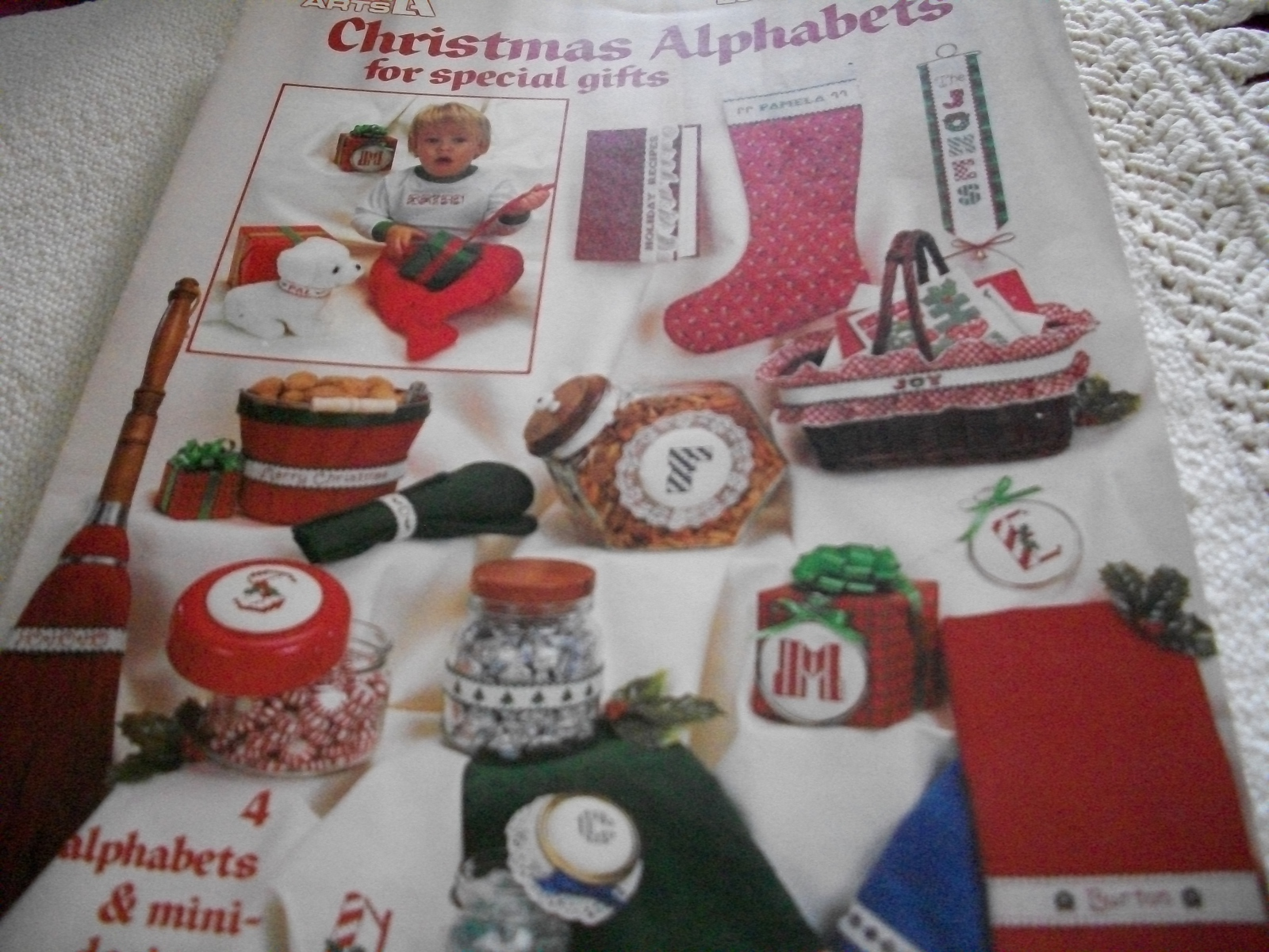 Primary image for Christmas Alphabets in Cross Stitch