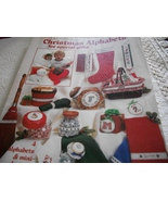 Christmas Alphabets in Cross Stitch - $4.00