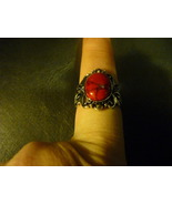 HAUNTED MALE RED DRAGON RING SIZE6.5 - $160.00