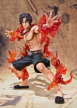 One Piece Portgas D. Ace Battle Version Figuarts Zero Figure *NEW* - $79.99