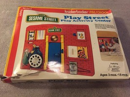 Vintage Playskool SESAME STREET Play Street Activity Center Crib Toy MIB... - $49.45