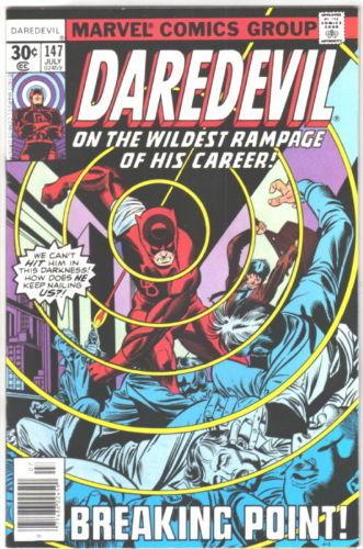 Daredevil Comic Book #147 Marvel Comics 1977 FINE-