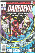 Daredevil Comic Book #147 Marvel Comics 1977 FINE- - $5.48