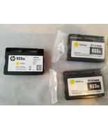 933XL Gelb Druckerpatronen Wiederaufgearbeitete CN056AN 3er Set - $29.49