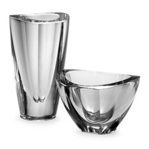 Orrefors Mirror 5 3/8 In. Crystal Art Deco Bowl (Bowl only) - £38.02 GBP