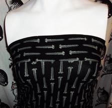 Betsey Johnson RARE black vintage punk label SCREW S XS P - $99.99