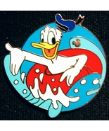 Donald Duck with Innertube, Disney trading pin #50531