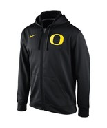 "Nike Oregon Ducks College KO Full Zip Logo Perf. BLK ""Medium"" - $34.65"