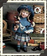 "Boyds Yesterdays Child ""Shannon w/Slapstick""-  #4841 -12"" Doll- LE-2002-Retired - $59.99"