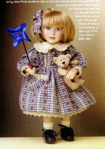 """Boyds Yesterdays Child """"Leah W/ Windy.. Summer Breeze""""  #4811  12"""" Doll  Le - $49.99"""