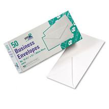 Quality Park White Wove Business Envelope Convenience Packs, V-Flap, #10... - $8.95