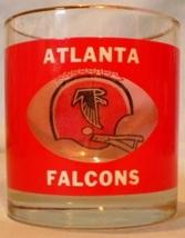 HouzeArt See Thru Football Glass Atlanta Falcons - $10.00