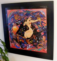 "Jiang Tie Feng ""Huntress"" 1990 Framed LE Serigr... - $1,950.00"