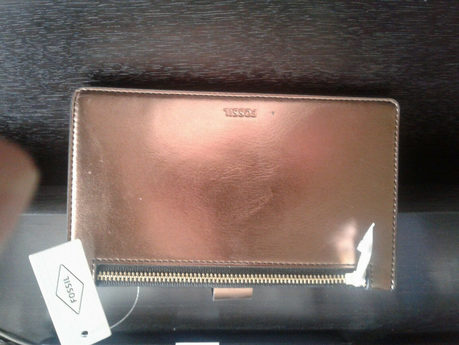 Fossil Leather Wallet for Women