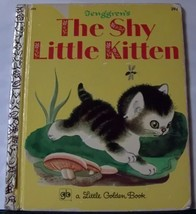 Tenggrens The Shy Little Kitten Little Golden Book - $9.99