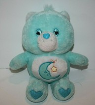 """Care Bears Baby BEDTIME BEAR 10"""" Blue Plush Soft Toy Sings ABC Song TCFC... - $28.90"""