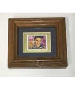 Legacies Elvis and Ritchie Valens Framed 29 cent stamps - $49.50