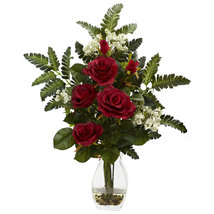Rose & Chryistam Arrangement - $52.99