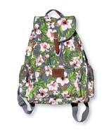 Victoria's Secret PINK Wild Tropical Floral Backpack Travel Book Bag *RARE* - $137.00