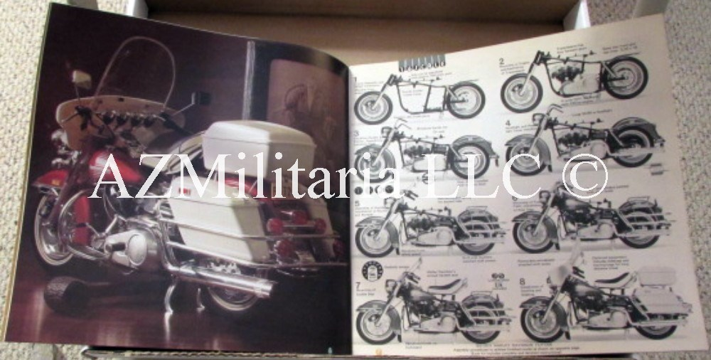 1975 Tamiya Encyclopedia-Catalog Of Precision Plastic Model Kits