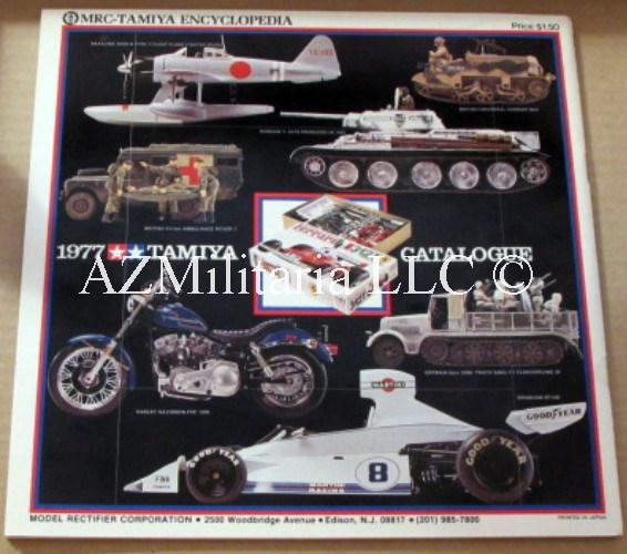 1977 Tamiya Catalogue