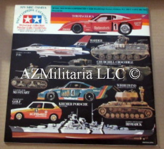 1979 MRC-TAMIYA Encyclopedia Catalogue: