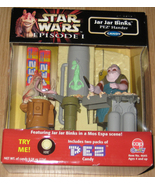 * 1999 Star Wars Jar Jar Binks Mos Espa PEZ Han... - $20.00