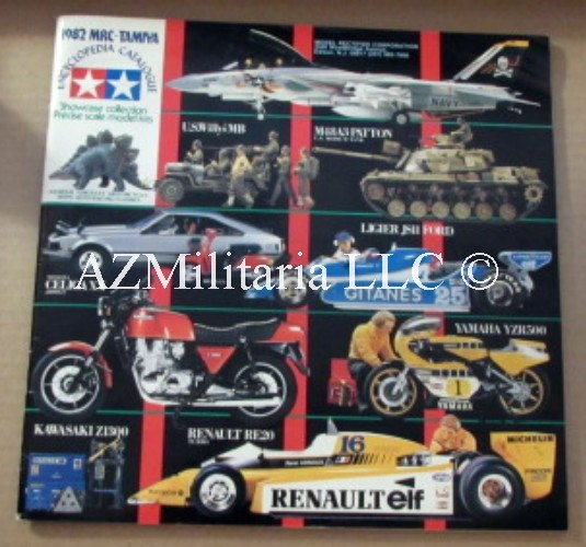 1982 MRC-TAMIYA Encyclopedia Catalogue
