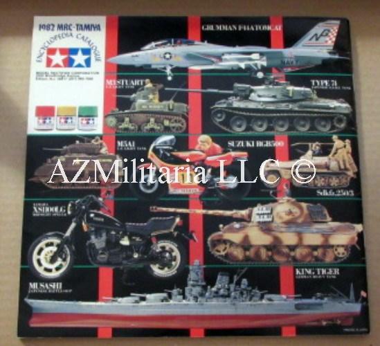 1982 MRC-TAMIYA Encyclopedia Catalogue