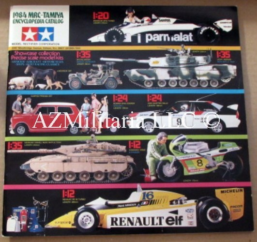 1984 MRC-TAMIYA Encyclopedia Catalog
