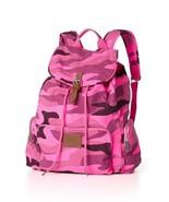 Victoria's Secret PINK Pink Camo Large Backpack Travel Book Bag - $85.00
