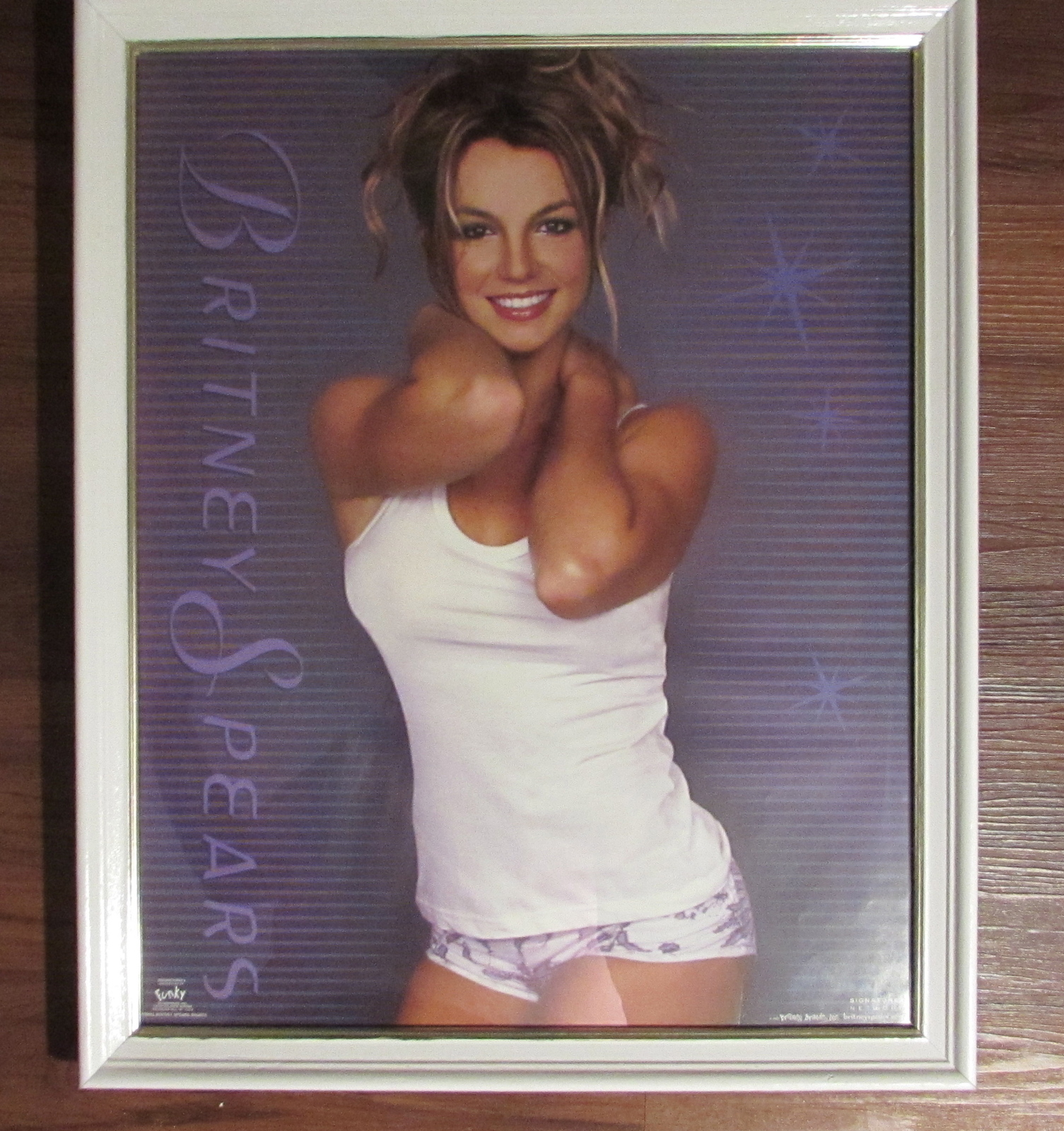 Funky Enterprises Color Poster of Britney Spears/Britney Brands Inc.